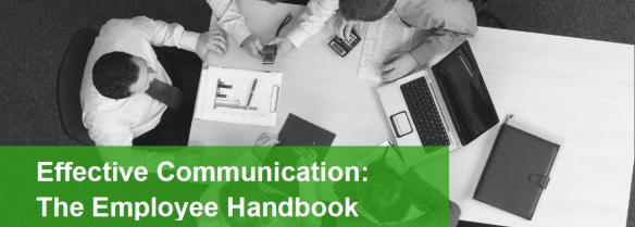 Effective communciation employee handbook